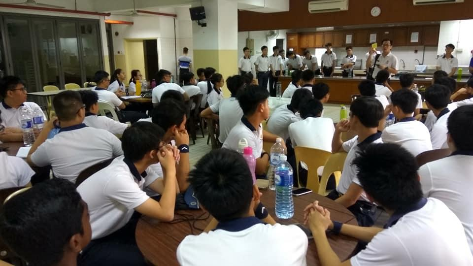 ANTC Trainees - Briefing by Mr. Andrew