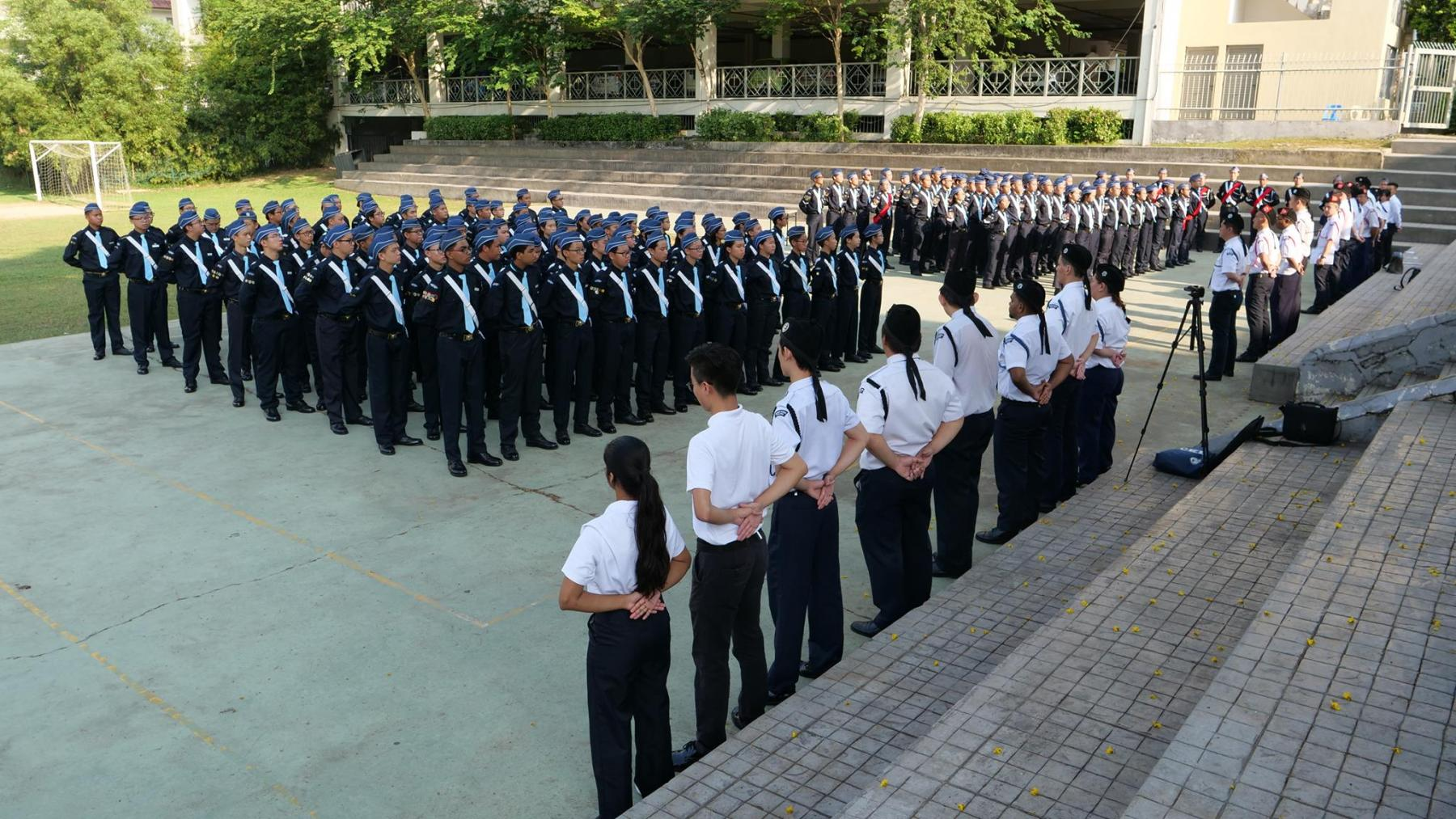 All Trainees at Opening Ceremony